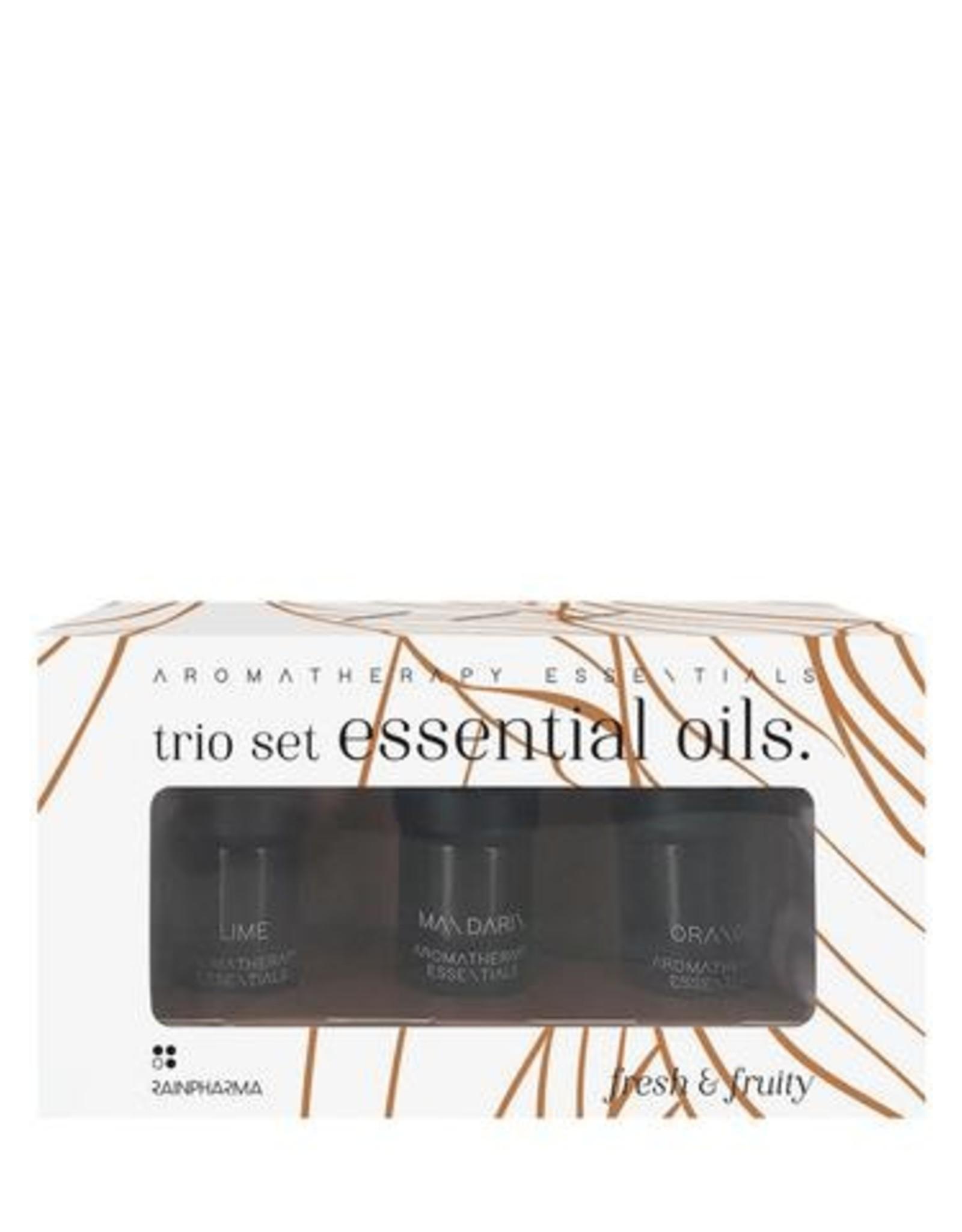 RainPharma Trio Essential Oils - Fresh & Fruity - Rainpharma