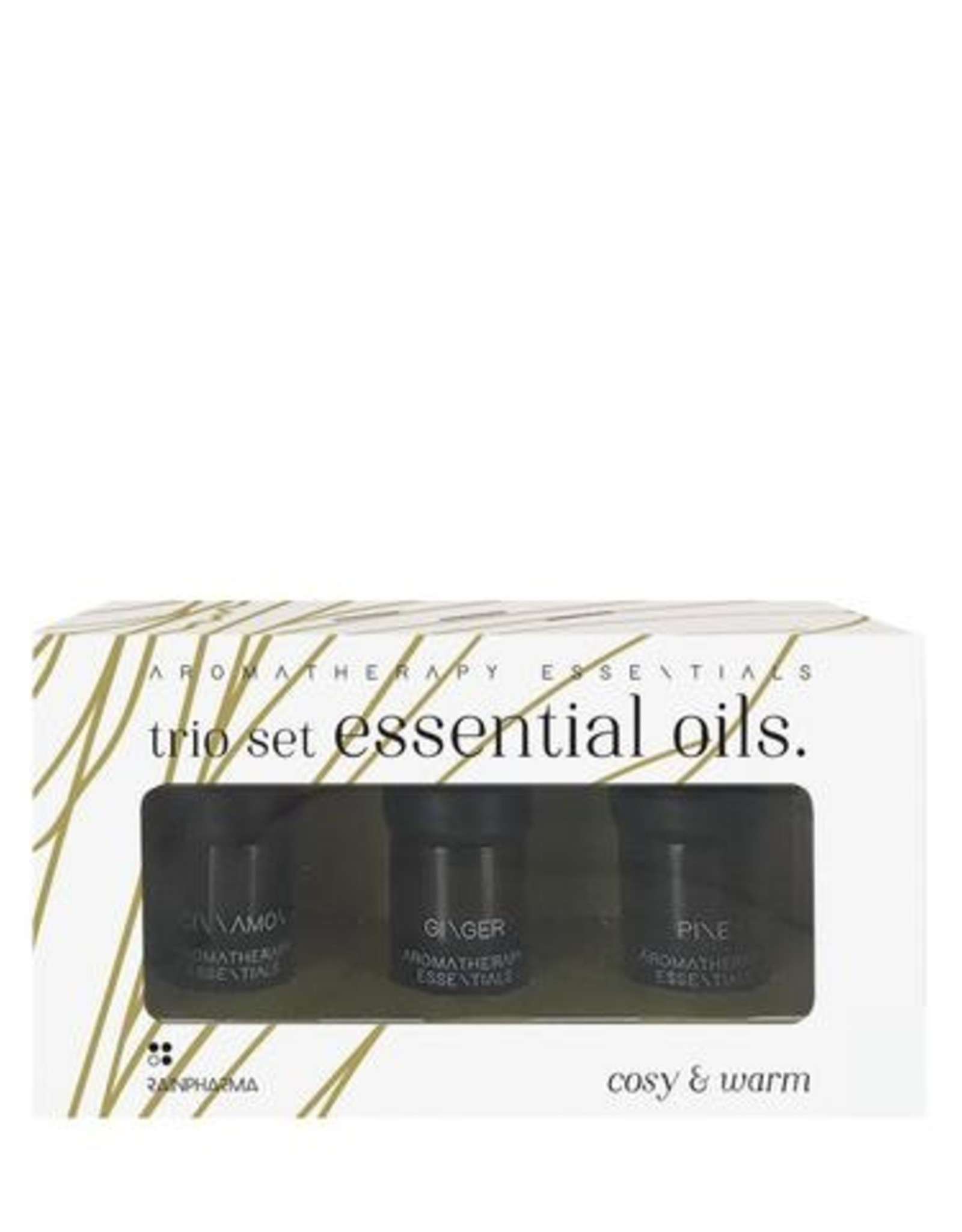RainPharma Rainpharma - Trio Essential Oils - Cosy & Warm