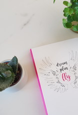 Diversen Dream Plan Fly journal