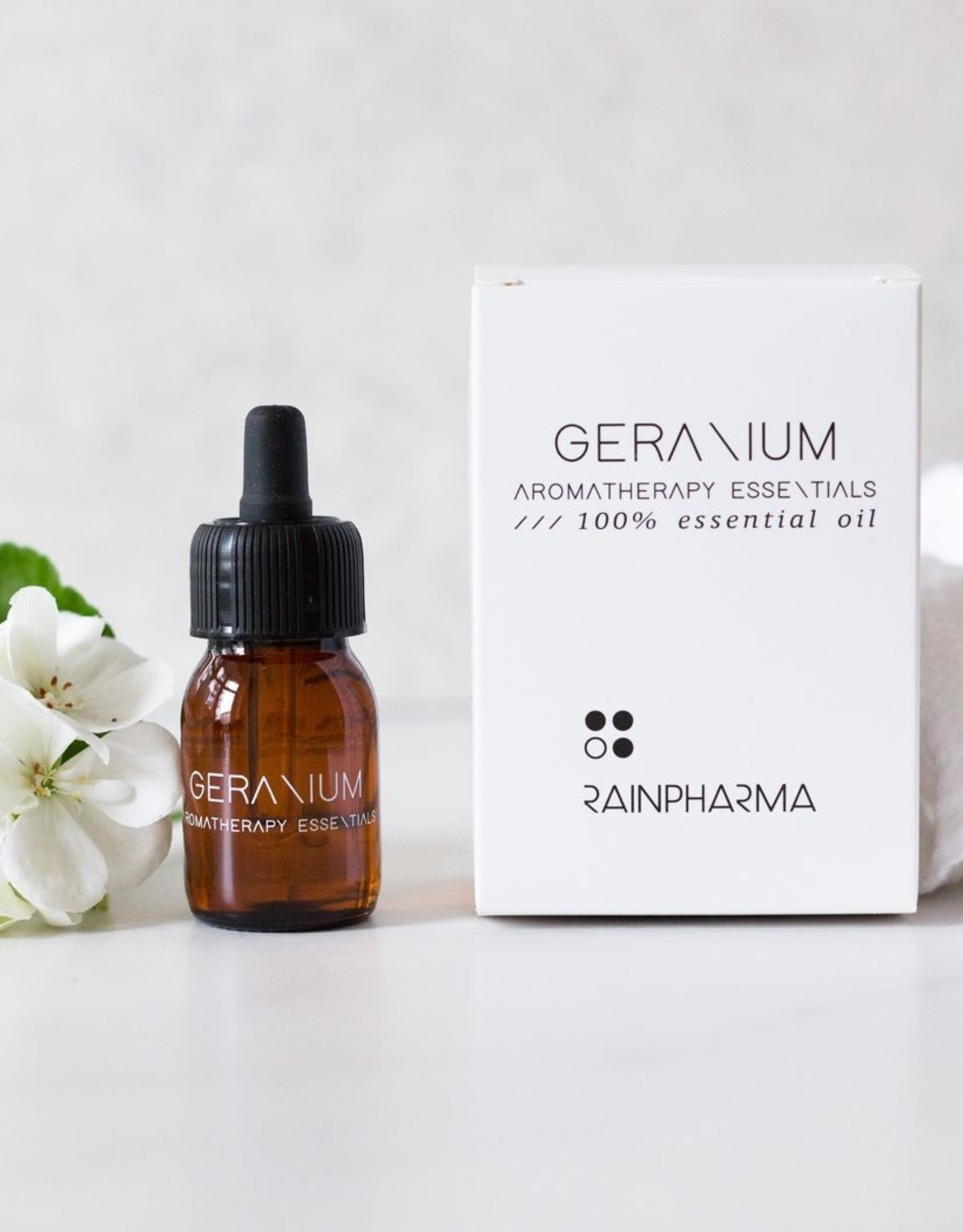 RainPharma Rainpharma - Essential Oil Geranium 30ml