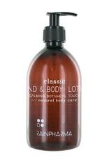RainPharma Classic Hand & Body Lotion - Calming Botanical Touch 500ml - Rainpharma