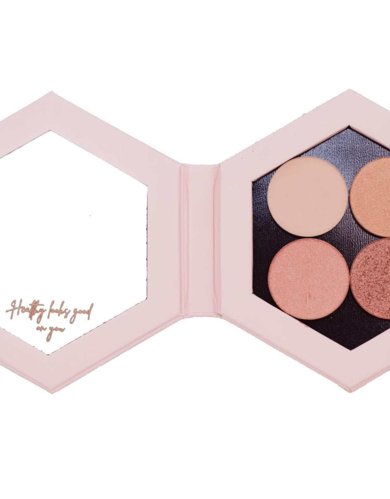 CentpurCent Refillable Compact Eye Shadow Lingerie  - CentpurCent