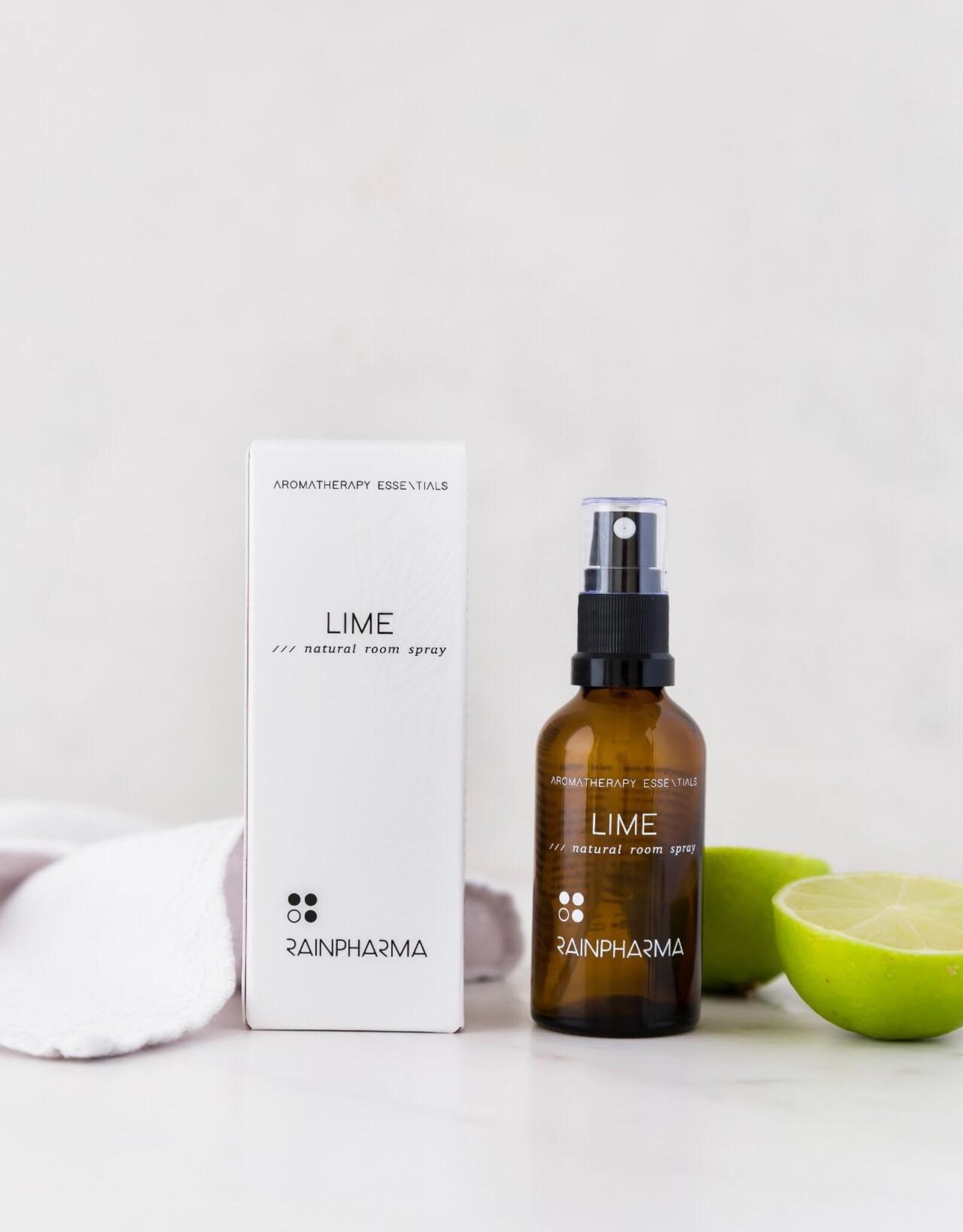 RainPharma Natural Room Spray Lime 50ml - Rainpharma