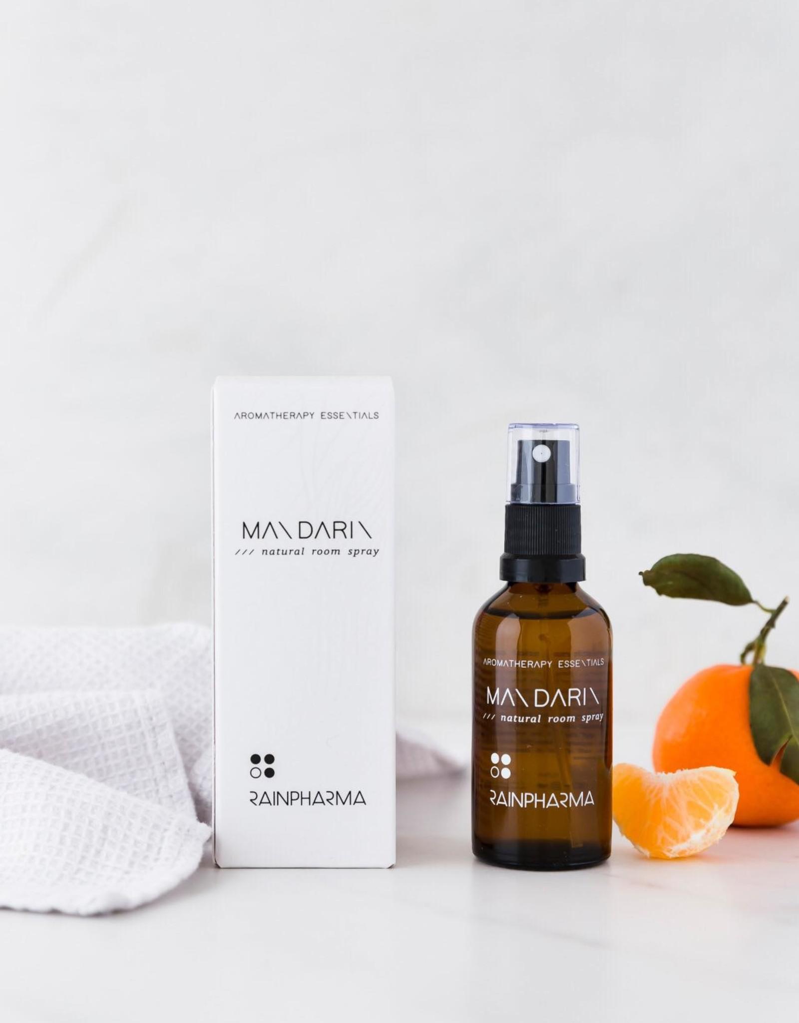 RainPharma Natural Room Spray Mandarin 50ml - Rainpharma