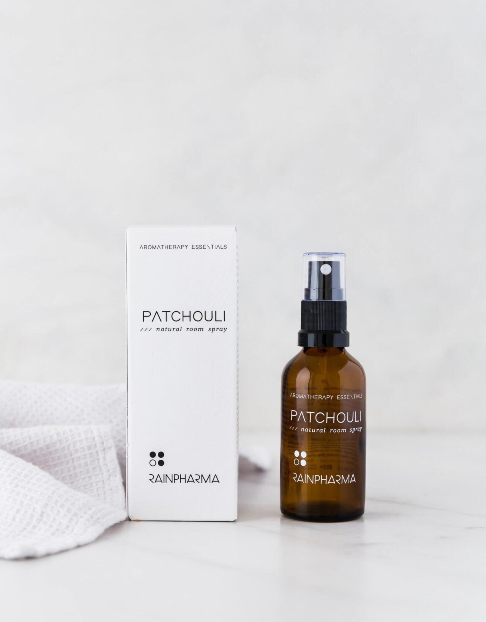 RainPharma Natural Room Spray Patchouli 50ml - Rainpharma