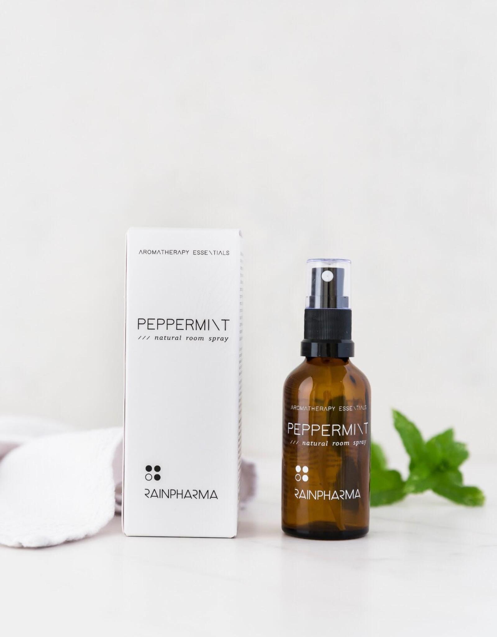 RainPharma Natural Room Spray Peppermint 50ml - Rainpharma