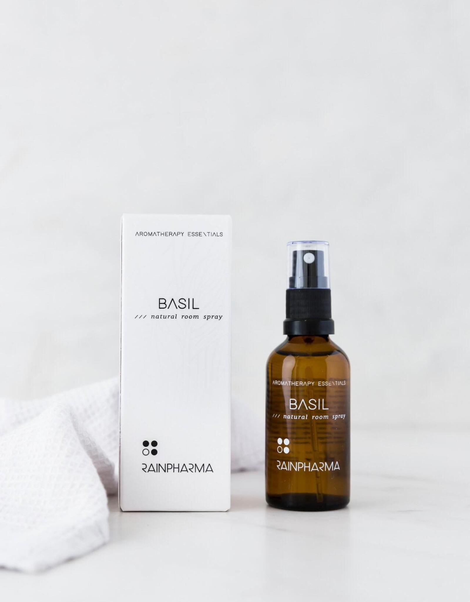 RainPharma Natural Room Spray Basil 50ml - Rainpharma