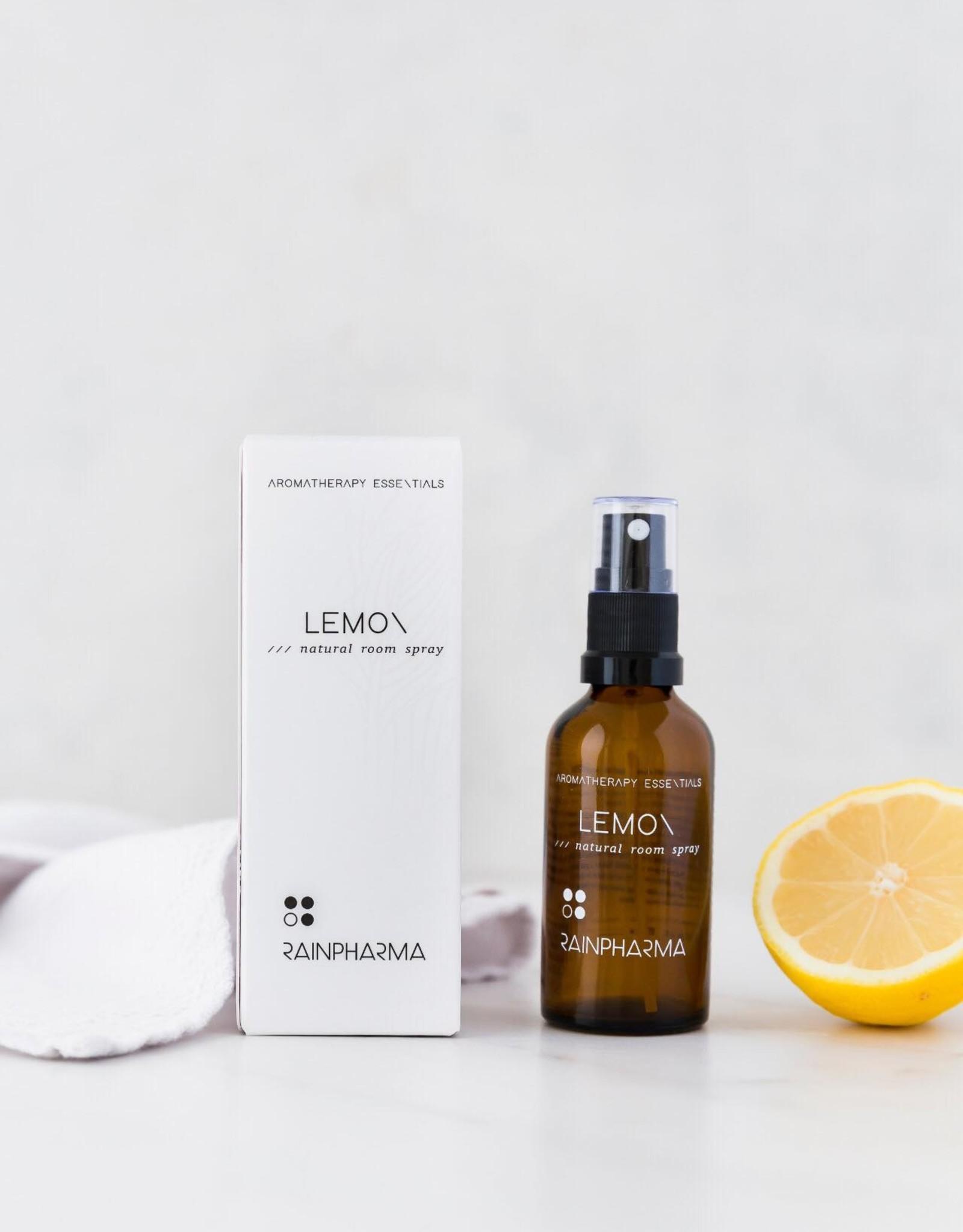RainPharma Natural Room Spray Lemon 50ml - Rainpharma