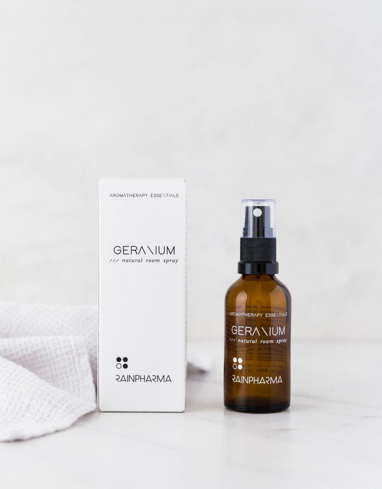 RainPharma Natural Room Spray Geranium 50ml - Rainpharma
