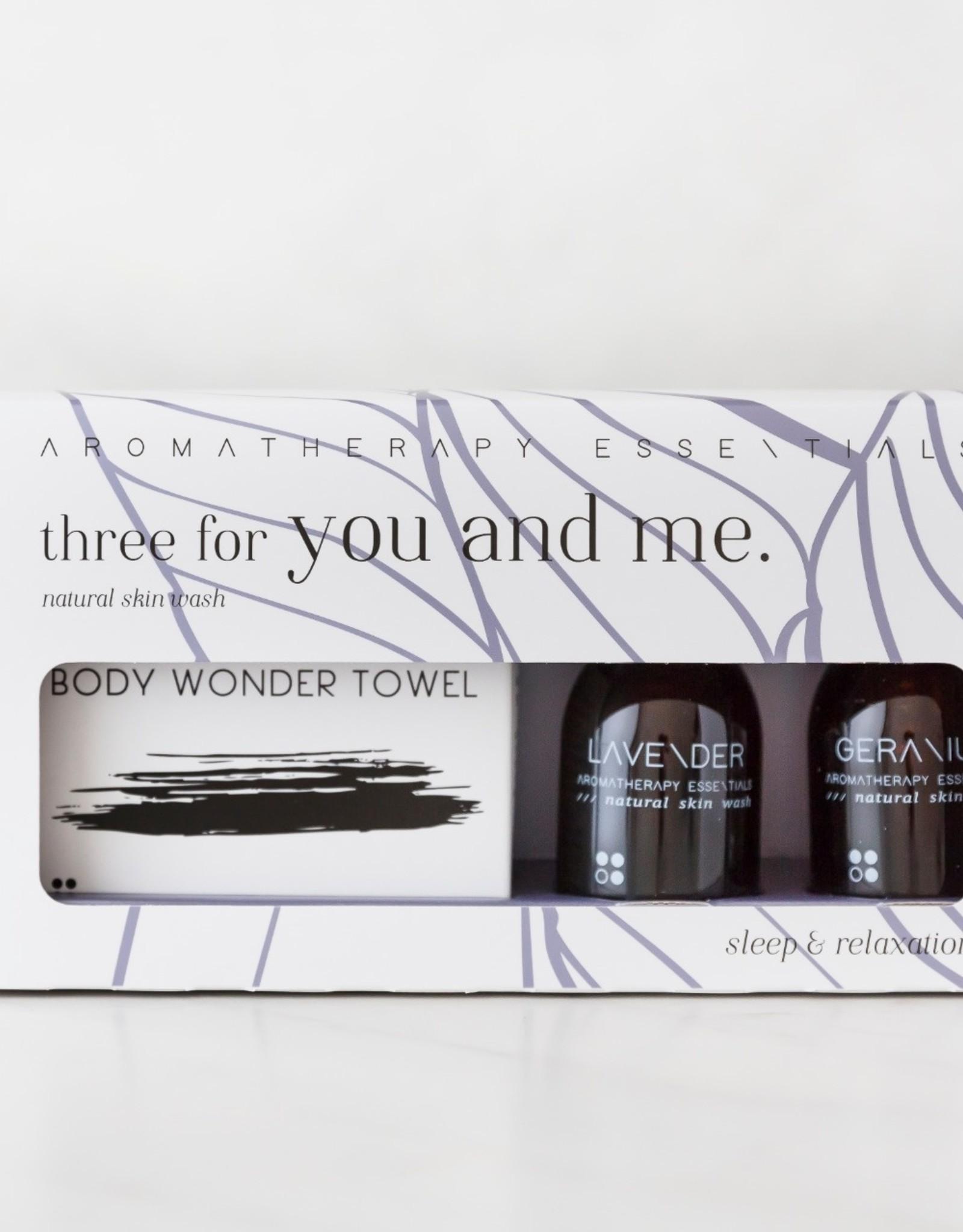 RainPharma Three For You And Me - Sleep & Relaxation - Lavender/Geranium - Rainpharma