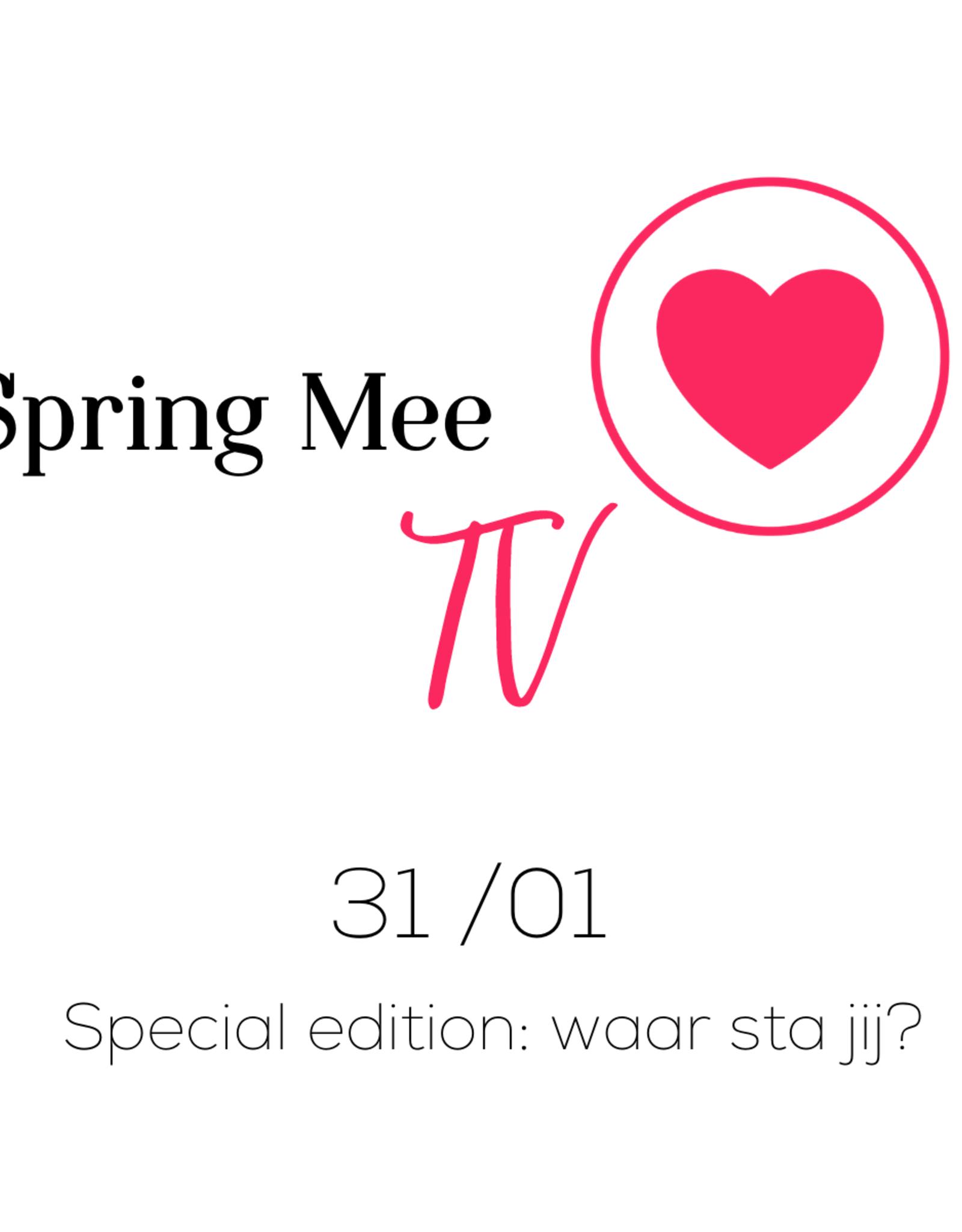 Zoomsessie 'Spring Mee TV' - ZON 31.1.2021