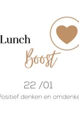 Zoomsessie 'Lunch Boost' - VRIJ 22.1.2021
