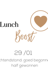 Zoomsessie 'Lunch Boost' - VRIJ 29.1.2021