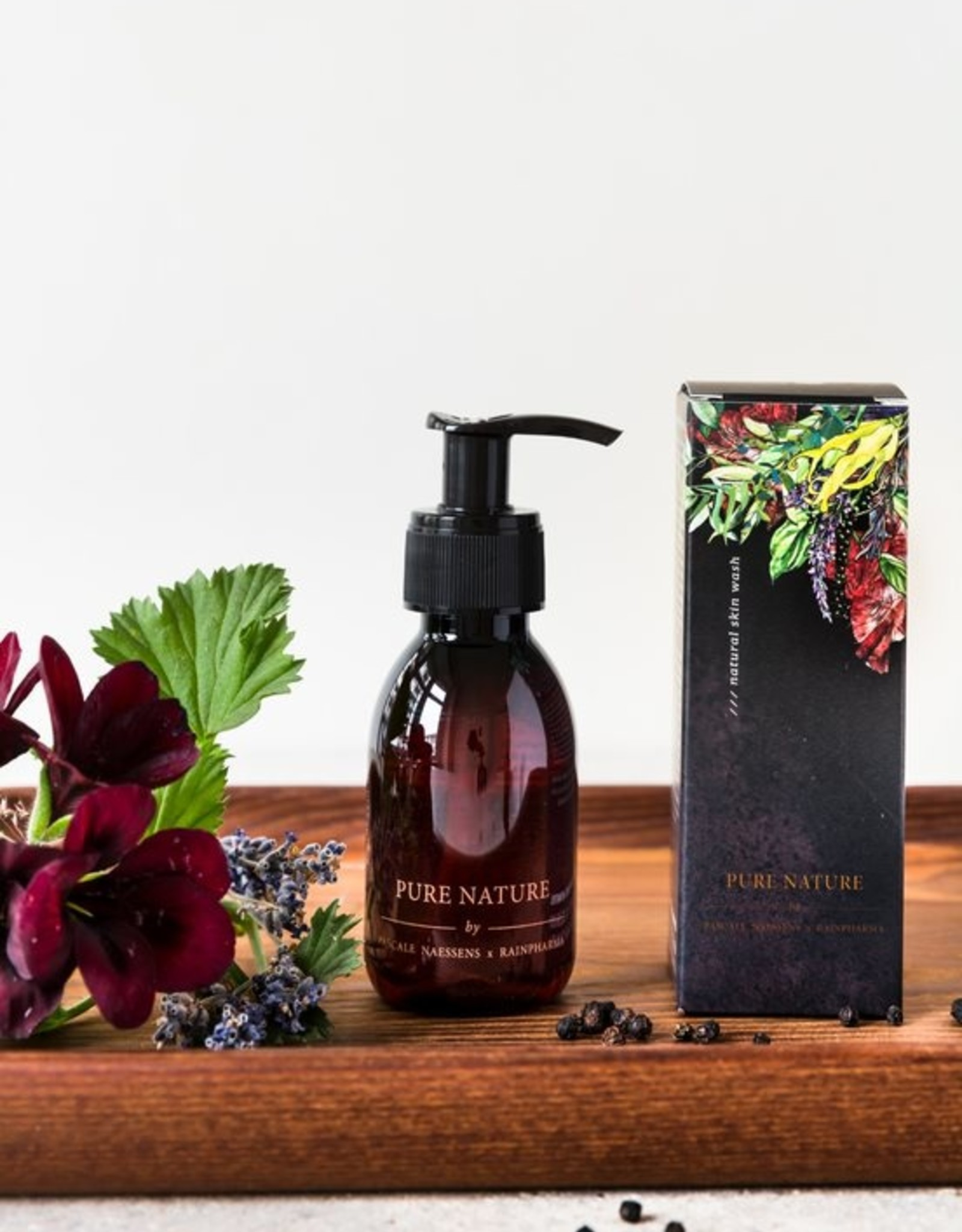 RainPharma Skin Wash Pure Nature 100ml - Rainpharma