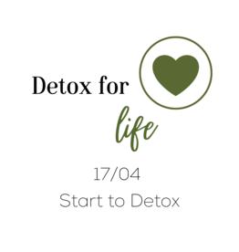 Zoomsessie Start to Detox - 17/4/2021