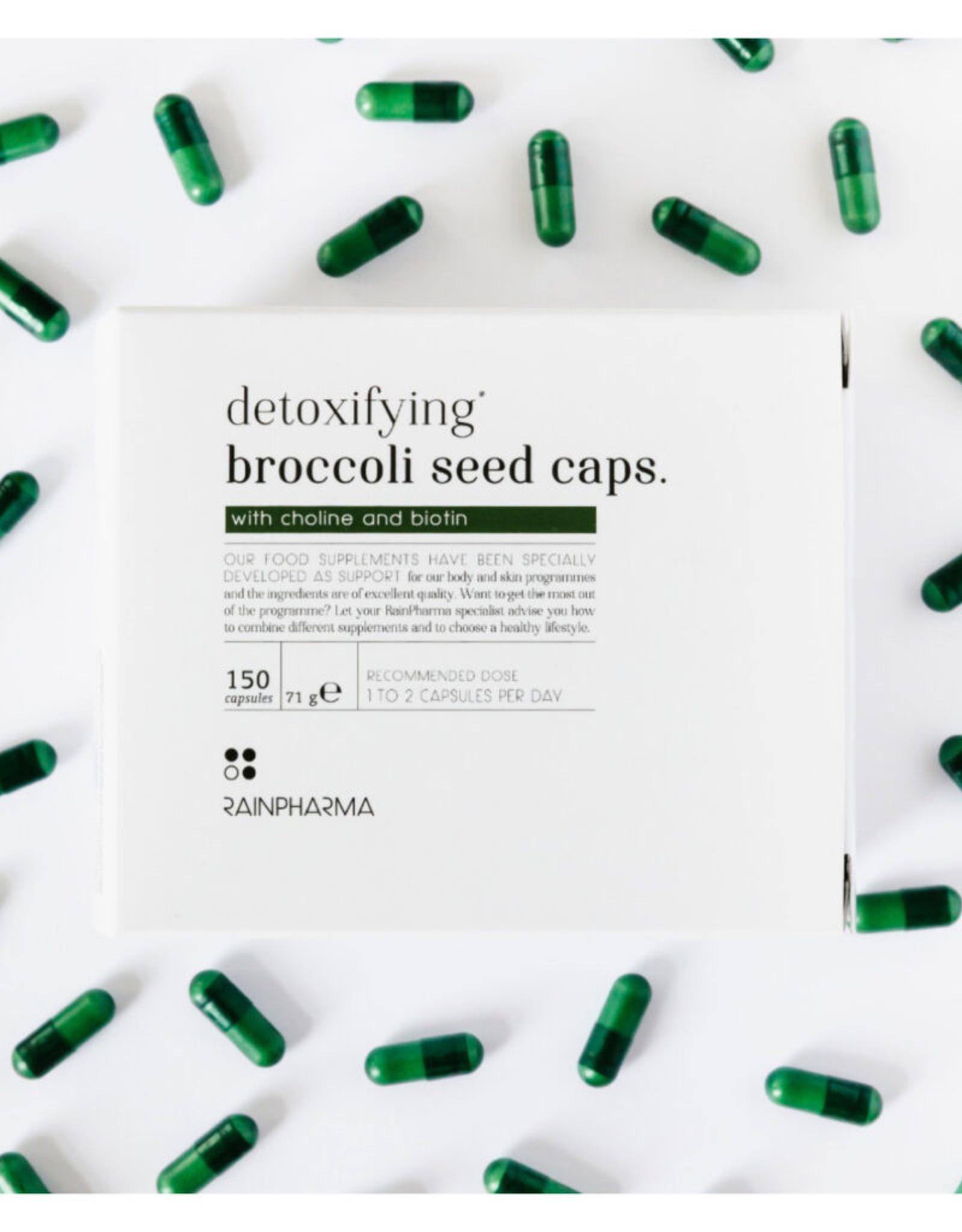 RainPharma Detoxifying Broccoli Seed Caps 150 caps – Rainpharma