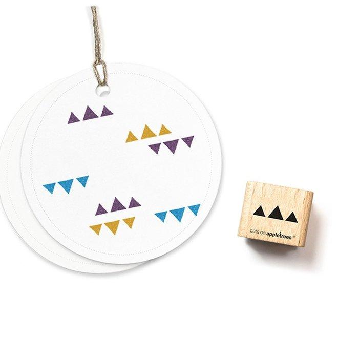 Stempel Driehoekjes 2179