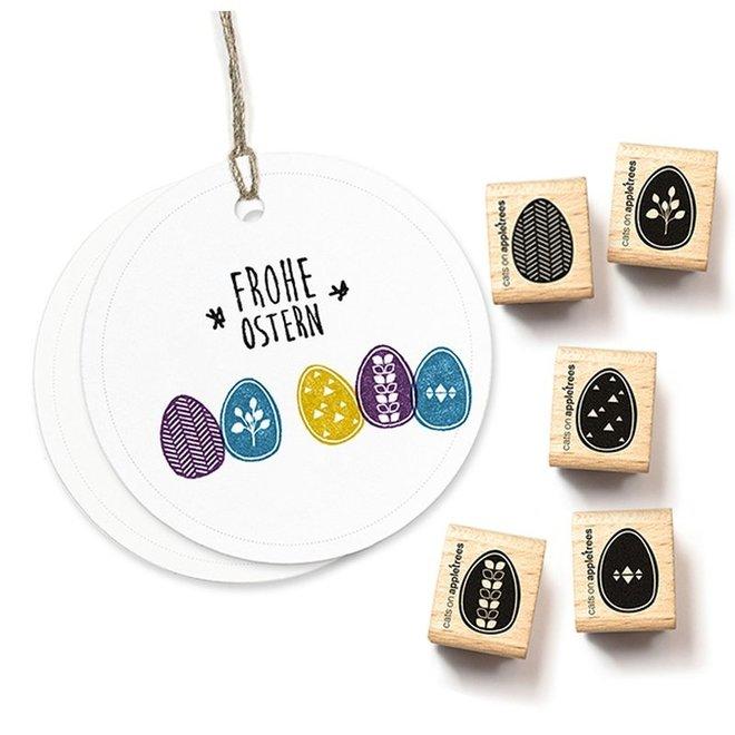 Stempel Set eieren 2192