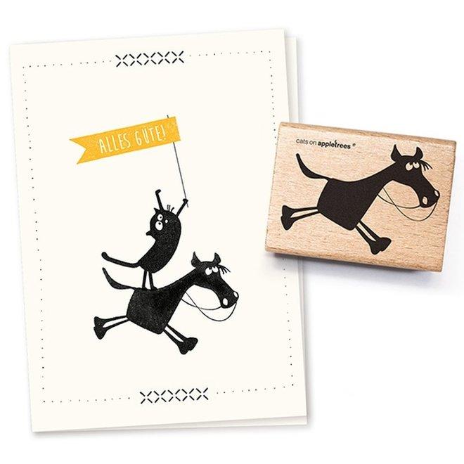 Stempel Paard Hugobald 2227