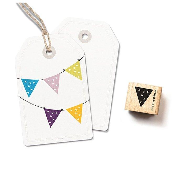Stempel Vlag 1 – driehoekjes 2252