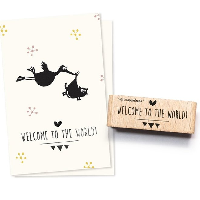Stempel Tekst 'Welcome' 2259