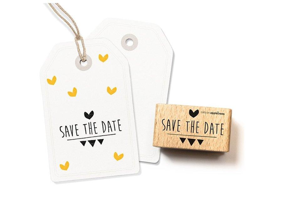 Stempel Tekst 'Save the Date' 2308