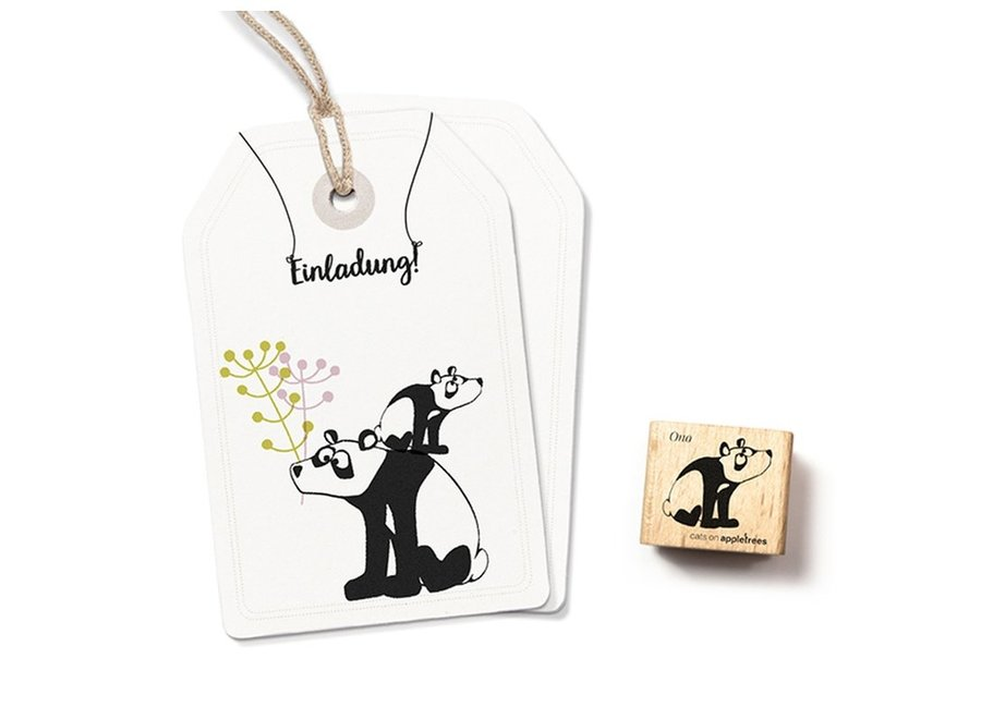 Stempel Kleine panda Ono 2345