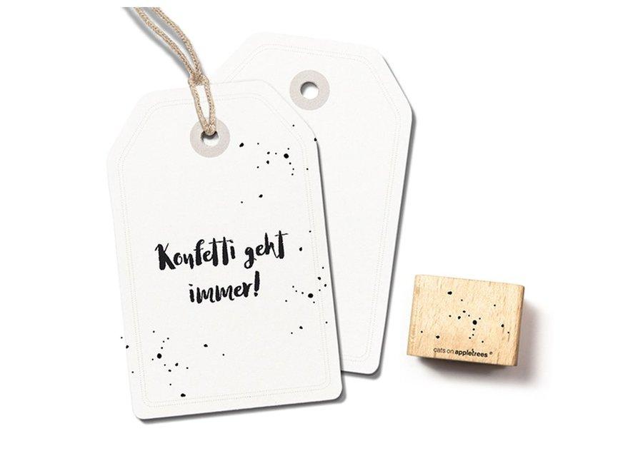 Stempel confetti 2405