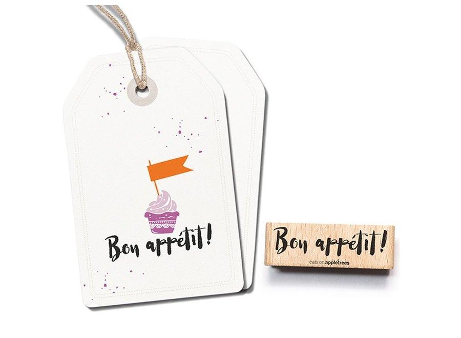 Stempel Tekst Bon appétit 2485