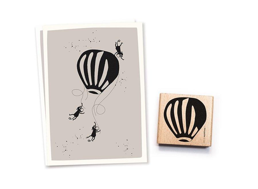 Stempel Luchtballon 2540