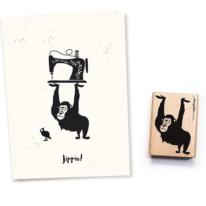 Stempel Gorilla Runhild 2577