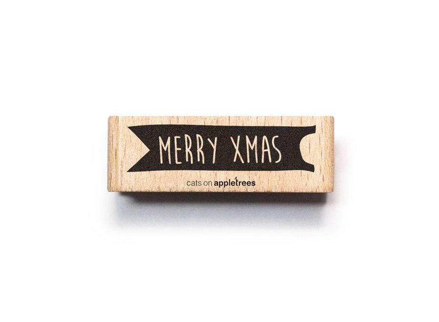 Stempel tekstMerry Christmas 2 2562