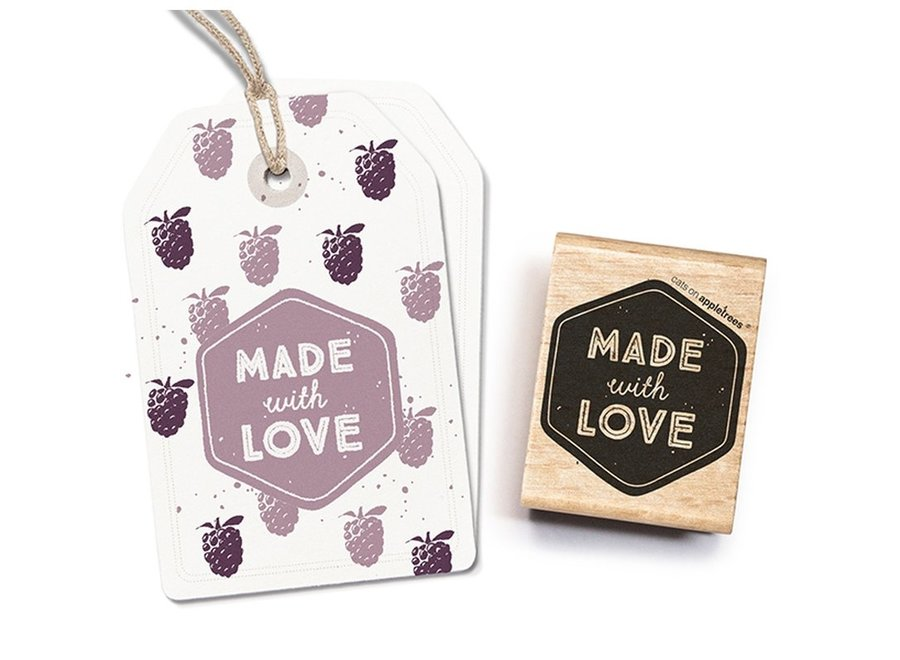 Stempel Tekst Made With Love 2 27263
