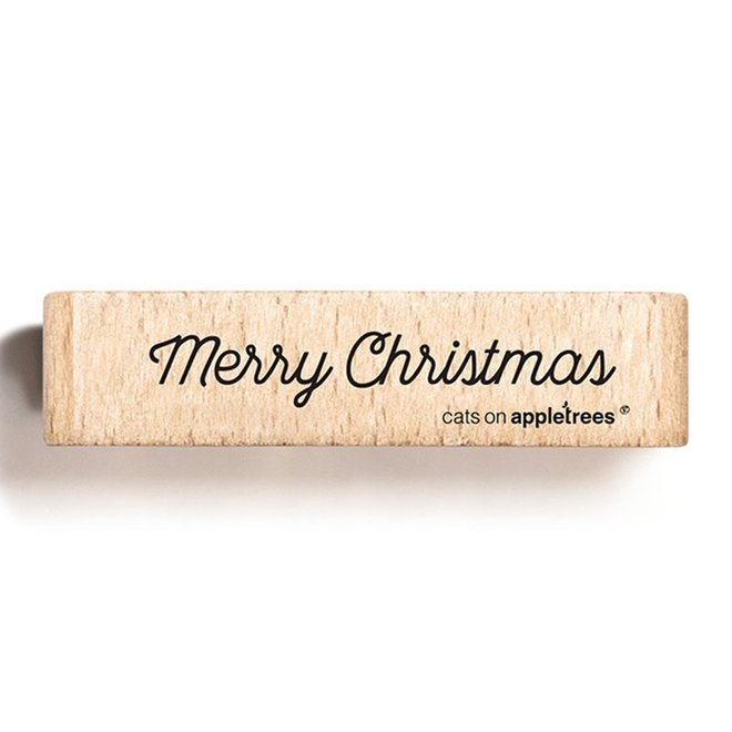 Stempel Tekst Merry Christmas 4 2709