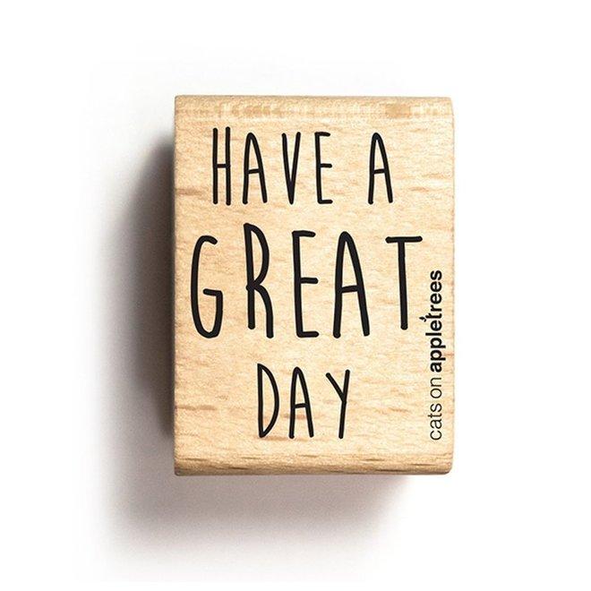 Stempel Tekst Great Day 2708
