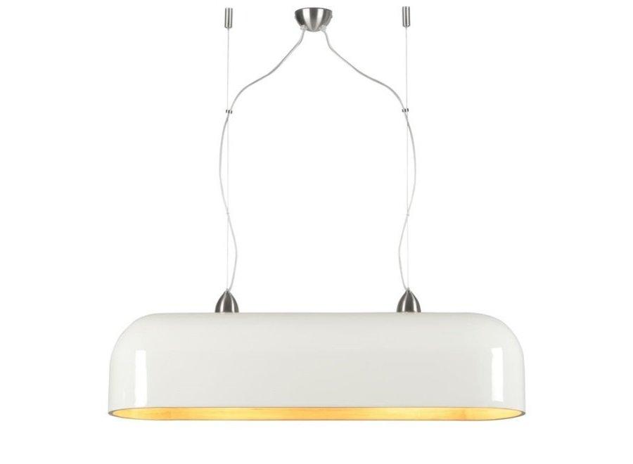 Hanglamp Halong ovaal wit