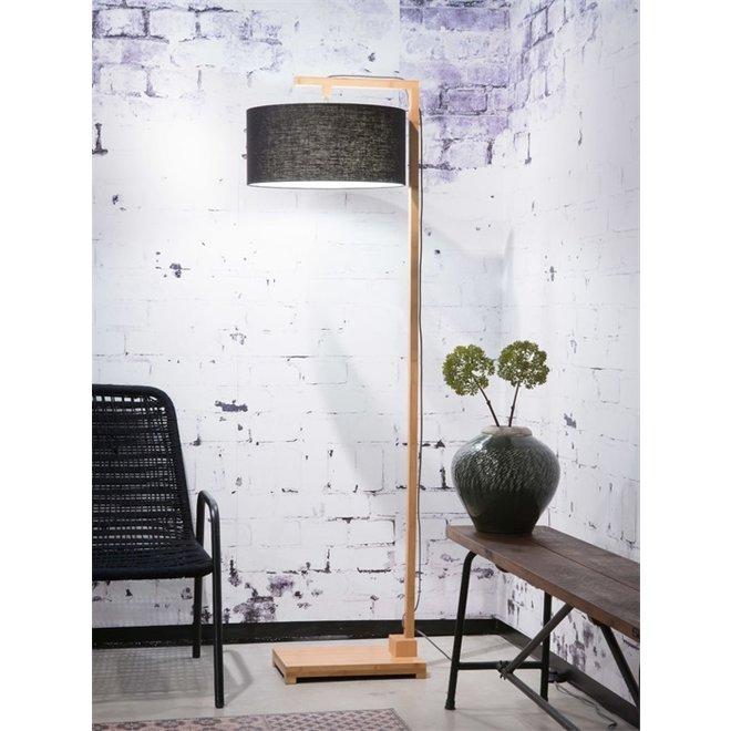 Vloerlamp Himalaya zwart  bamboe