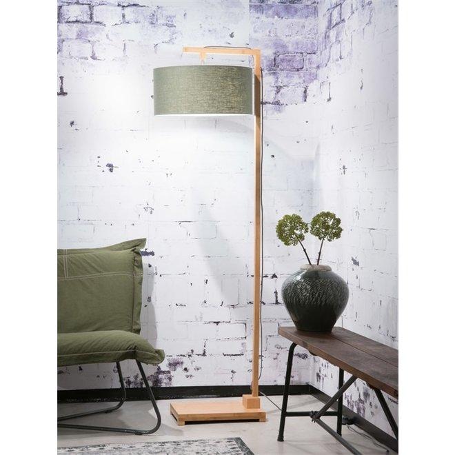 Vloerlamp Himalaya groen  bamboe