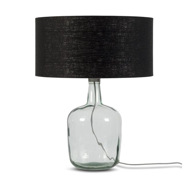 Tafellamp Murano L zwart