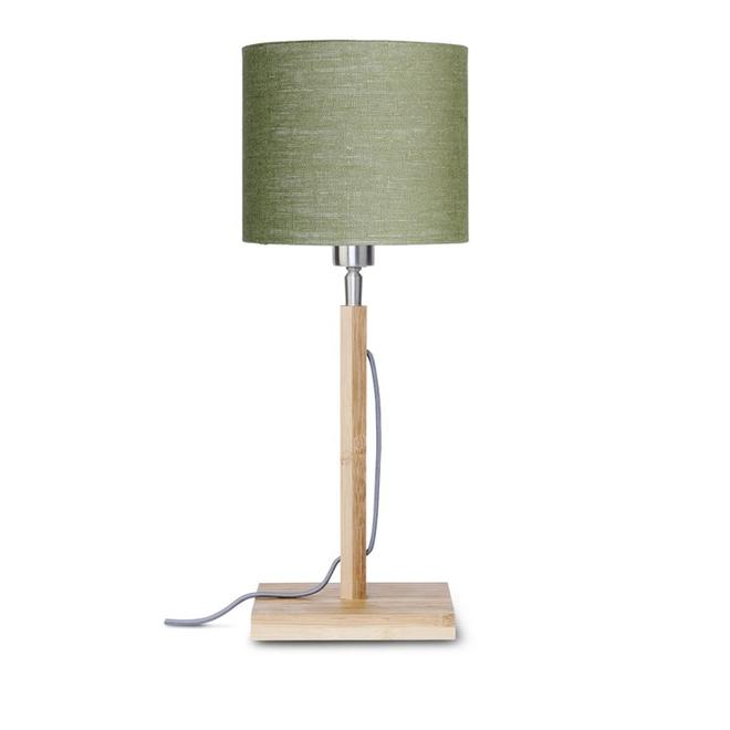 Tafellamp Fuji groen  bamboe