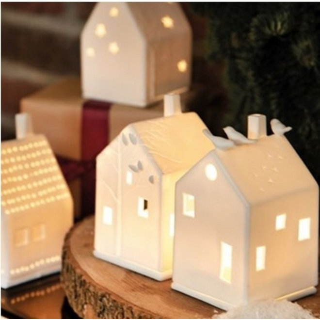 Lichthuisje birdhouse
