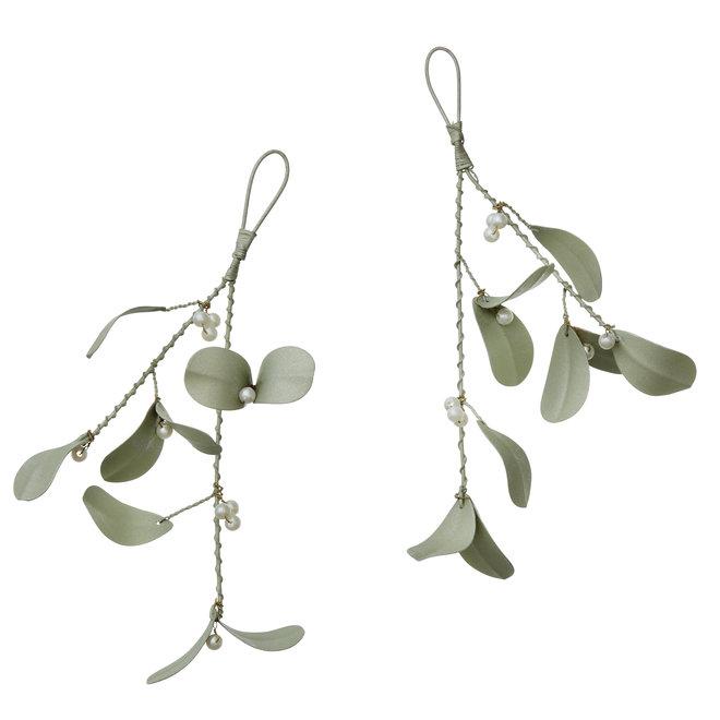 Mistletoe Mint Set of 2pcs