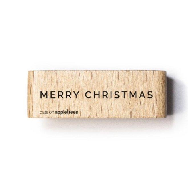 Stempel Tekst Merry Christmas 5 27352