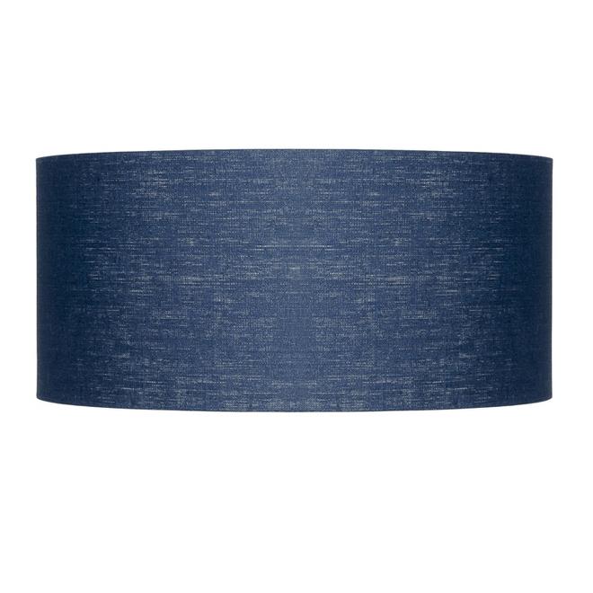 Enkel de lampenkap eco linnen Large/ blue denim
