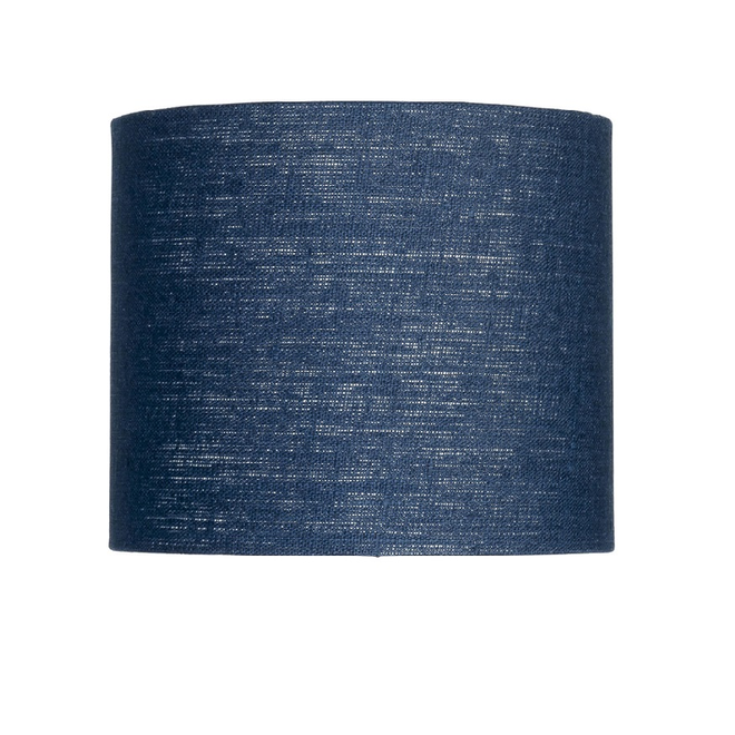 Enkel de lampenkap eco linnen Small/ blue denim