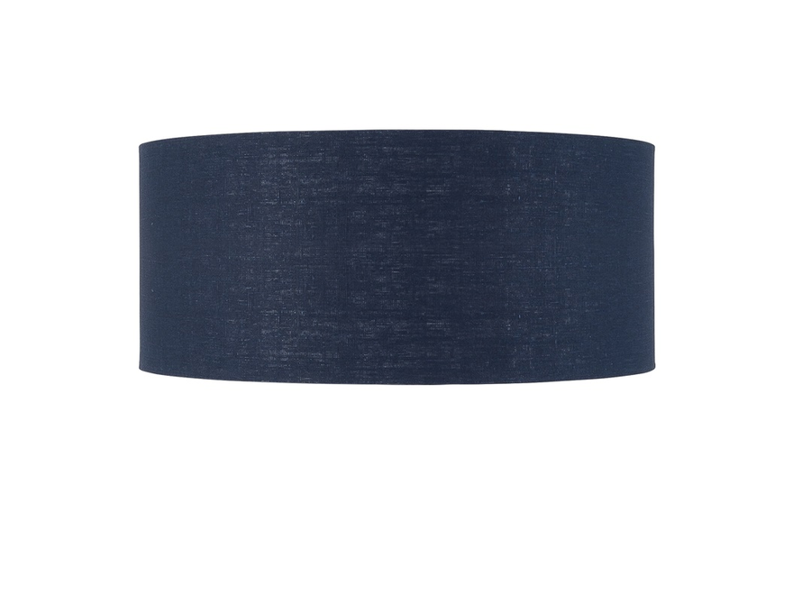Enkel de lampenkap eco linnen XL/ blue denim