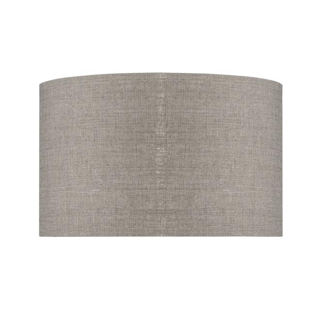 Enkel de lampenkap eco linnen Medium/ donker linnen