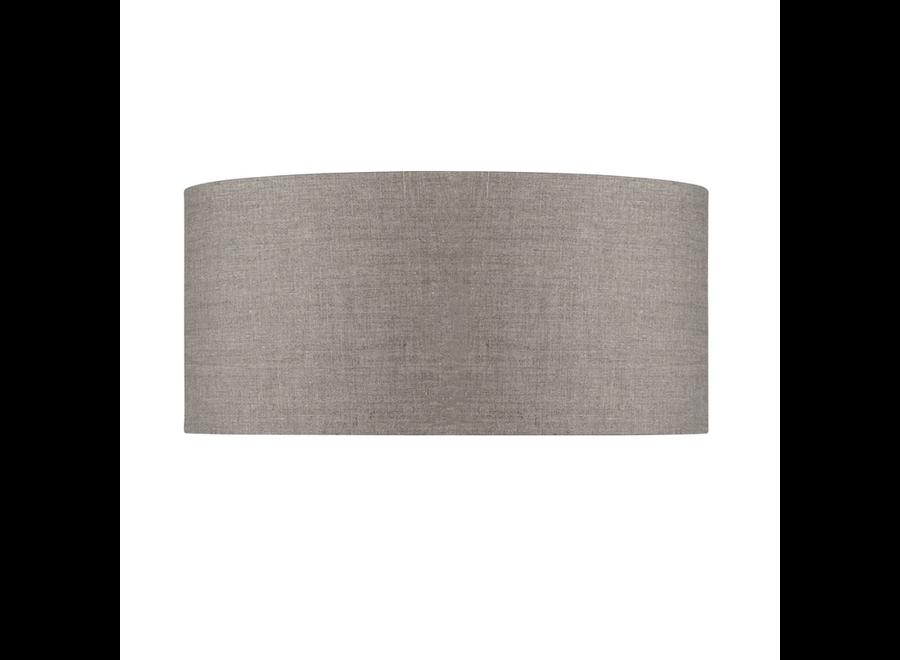 Enkel de lampenkap eco linnen XL/ donker linnen