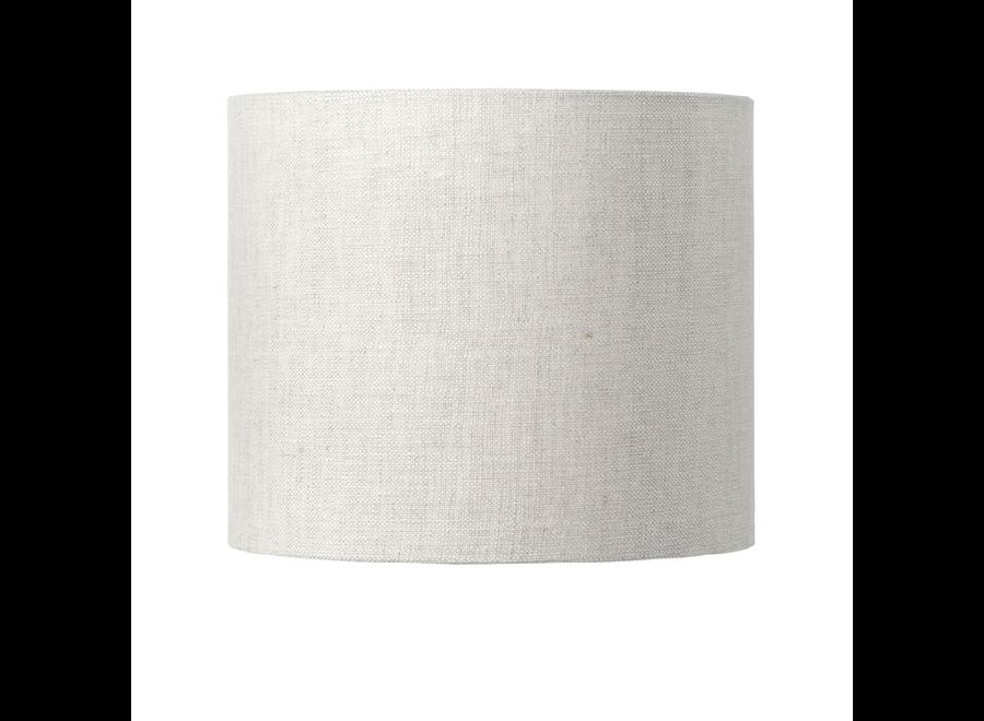 Enkel de lampenkap eco linnen Small/ licht linnen