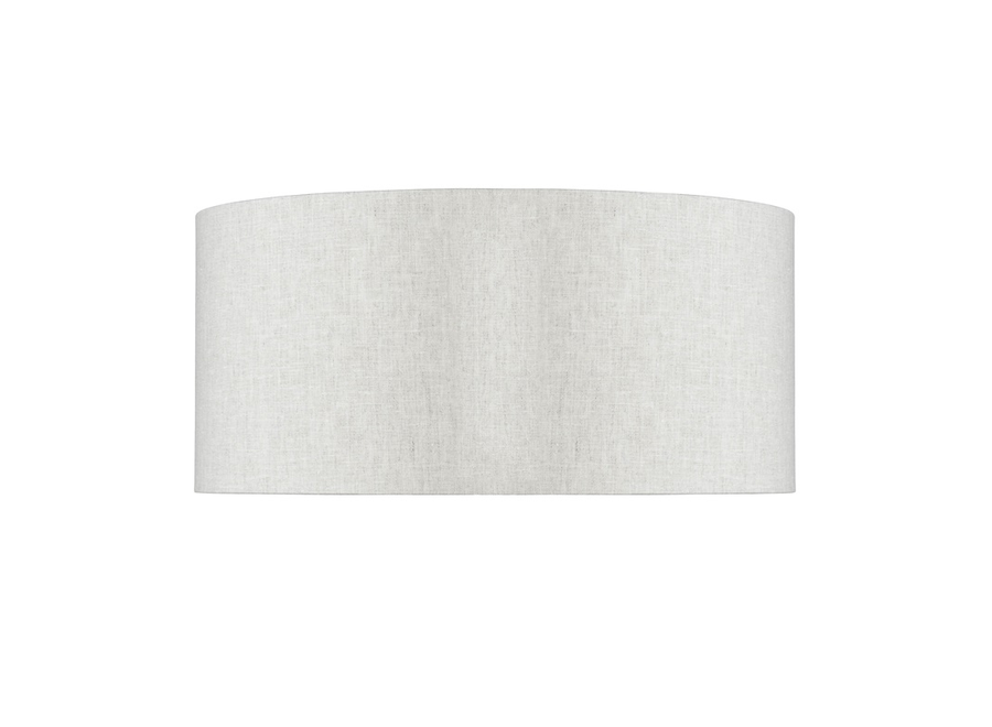 Enkel de lampenkap eco linnen XL/ licht linnen